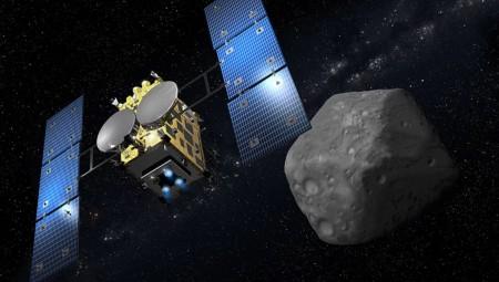 Hayabusa 2: Πλησιάζει τον αστεροειδή Ριούγκου, από όπου θα συλλέξει δείγματα