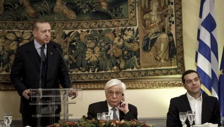 «Λακωνικά» συγχαρητήρια Παυλόπουλου για την επανεκλογή Ερντογάν