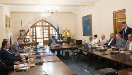 Κύπρος: Ενημέρωση Αναστασιάδη στους πολιτικούς αρχηγούς
