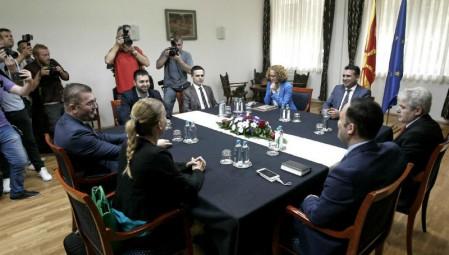 Νέο αδιέξοδο για τους πολιτικούς αρχηγούς της ΠΓΔΜ