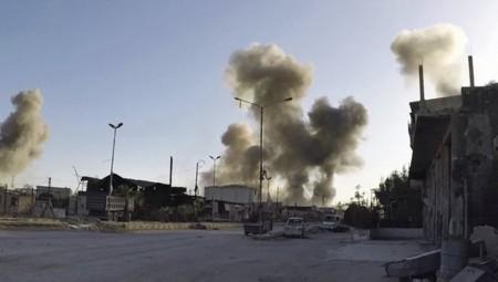 «Σφυροκόπημα» στη Συρία με τουλάχιστον 32 νεκρούς