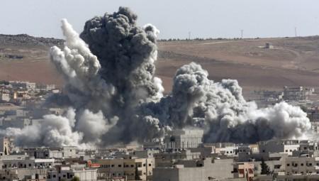 Άγριο σφυροκόπημα στη νότια Συρία