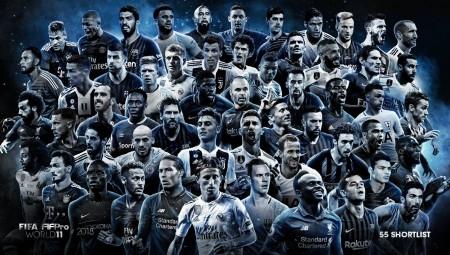 FIFA: Οι υποψήφιοι για κορυφαίοι της χρονιάς