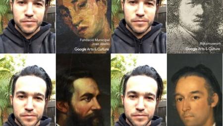 Νέα εφαρμογή της Google «βρίσκει» τον «σωσία» σου σε έργα τέχνης