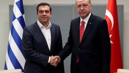 Προσφυγικό και Κυπριακό «ψηλά» στη συνάντηση Τσίπρα - Ερντογάν