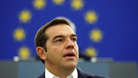 Πανηγυρισμοί Τσίπρα για τη συμφωνία των Πρεσπών και από το Στρασβούργο