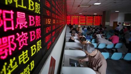 Μεικτά πρόσημα στην Ασία μετά τη «βουτιά» του Dow Jones
