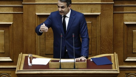 Σηκώνει το γάντι για Σύνταγμα και διαφάνεια ο Μητσοτάκης