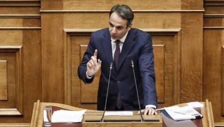 «Σφυροκόπημα» Μητσοτάκη σε Τσίπρα στη Βουλή
