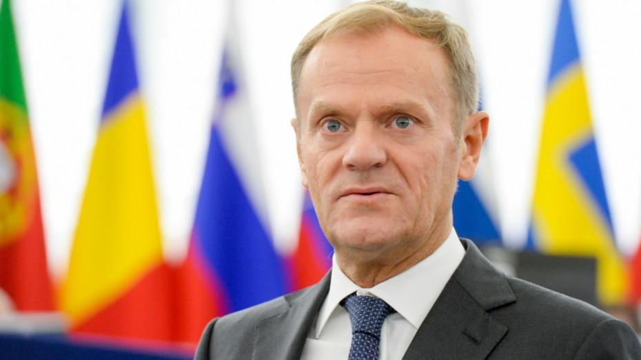 Donald TUSK in plenary session week 43 2016 in Strasbourg
