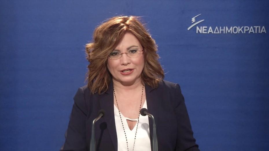 Σπυράκη: Να απαντήσει ο Πρωθυπουργός αν θα φέρει προς ψήφιση τη συμφωνία