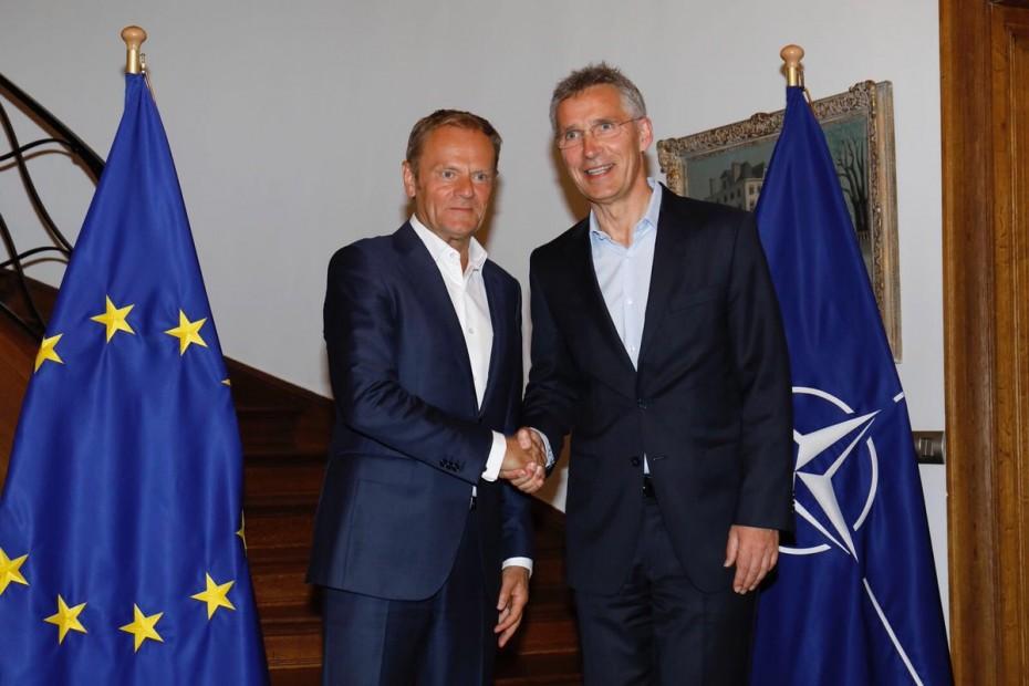 Κοινό ανακοινωθέν ΕΕ - ΝΑΤΟ για τη συμφωνία στο Σκοπιανό
