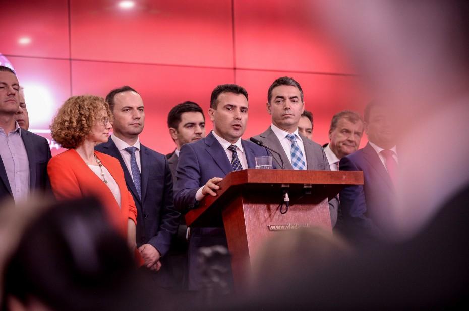 «Καρφώνει» Μαξίμου η κυβέρνηση Ζάεφ για το non paper της συμφωνίας