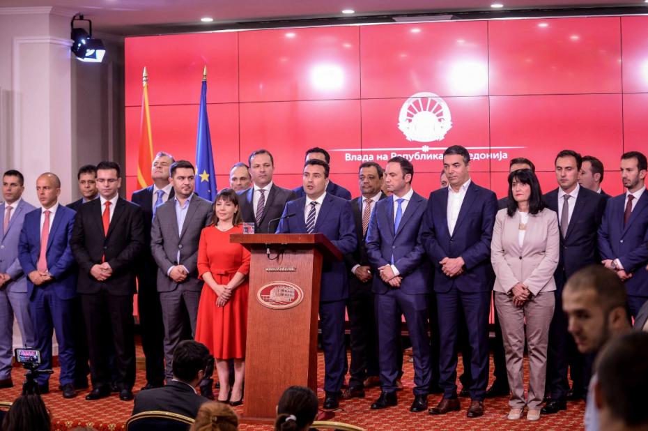 Ζάεφ: Οι «Μακεδόνες» θα παραμείνουν «Μακεδόνες» και θα μιλούν «μακεδονικά»