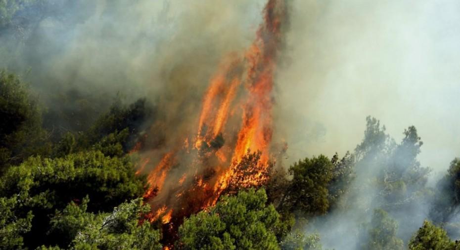 Ανεξέλεγκτες διαστάσεις έχει πάρει η πυρκαγιά στη Ζάκυνθο