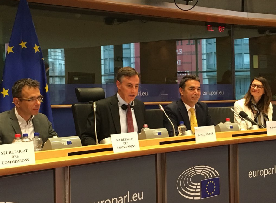 Ντιμιτρόφ από Ευρωκοινοβούλιο: «Είμαι Μακεδόνας»