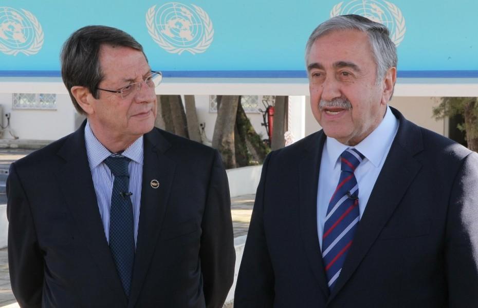 Συνάντηση Αναστασιάδη-Ακιντζί στις 26 Οκτωβρίου