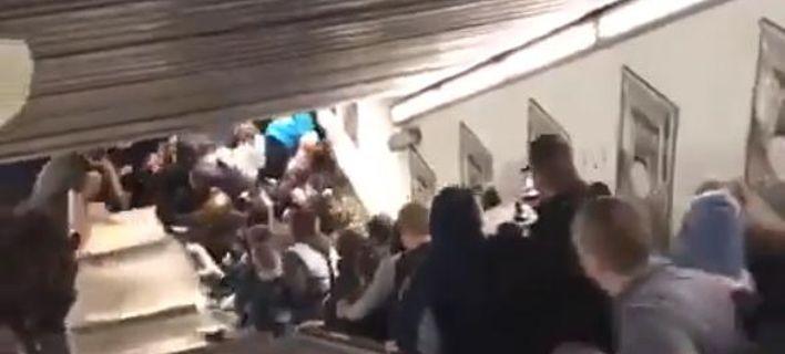 Ποδοπατήθηκαν δεκάδες άτομα στο Μετρό της Ρώμης (βίντεο)