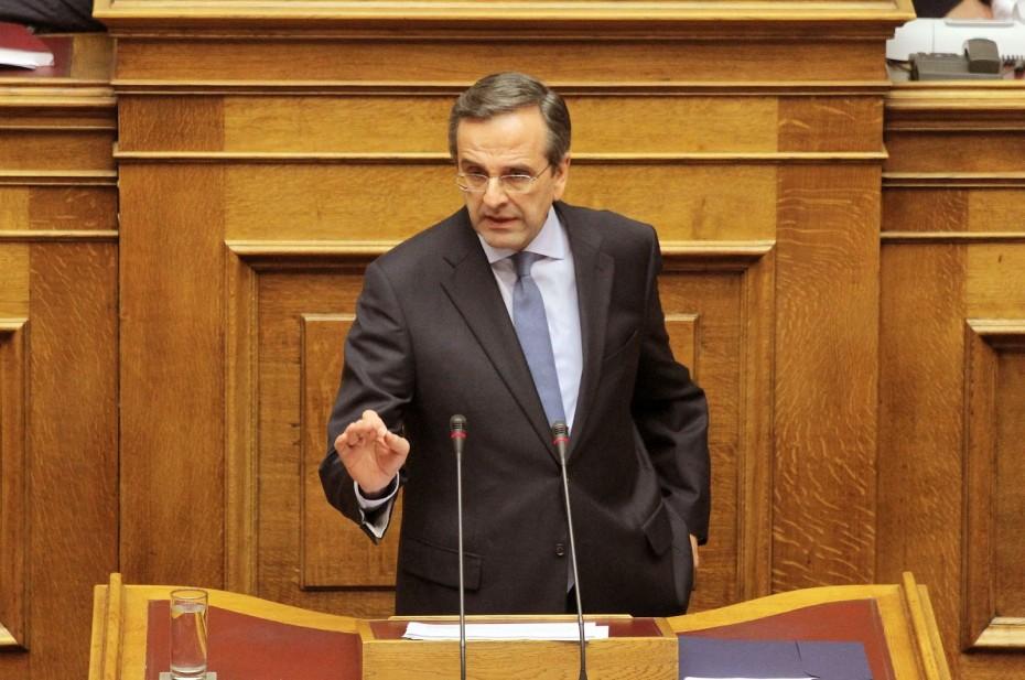 Εφ' όλης της ύλης επίθεση Σαμαρά κατά ΣΥΡΙΖΑ - «Τα δίνουν όλα»