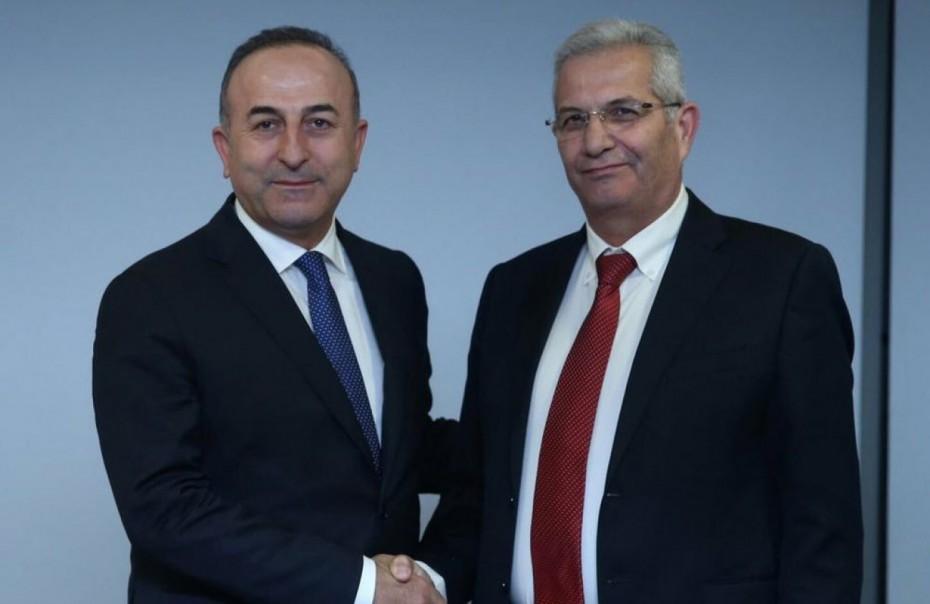 Συνάντηση Κυπριανού - Τσαβούσογλου εν μέσω έντασης στην κυπριακή ΑΟΖ