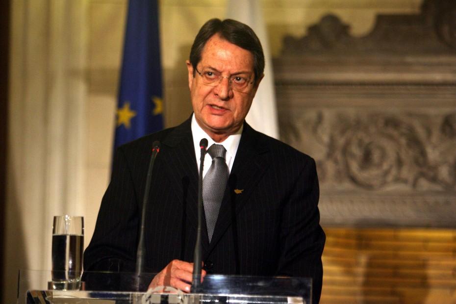 Έτοιμος για διάλογο με την Τουρκία δηλώνει ο Αναστασιάδης