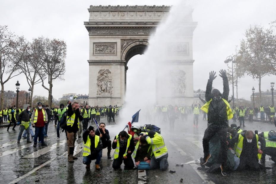 Σε επιφυλακή το Παρίσι για τις αυριανές διαδηλώσεις των «κίτρινων γιλέκων»