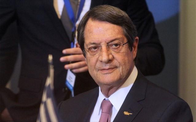 Αναστασιάδης: Το 2019 θα είναι καθοριστικό για το μέλλον της Κύπρου