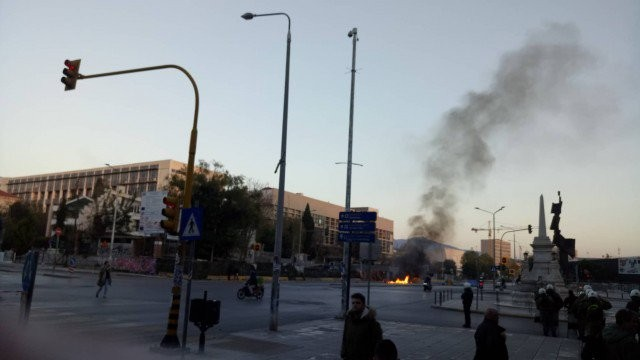 Θεσσαλονίκη: Μεγάλα επεισόδια στο ΑΠΘ για την επέτειο Γρηγορόπουλου