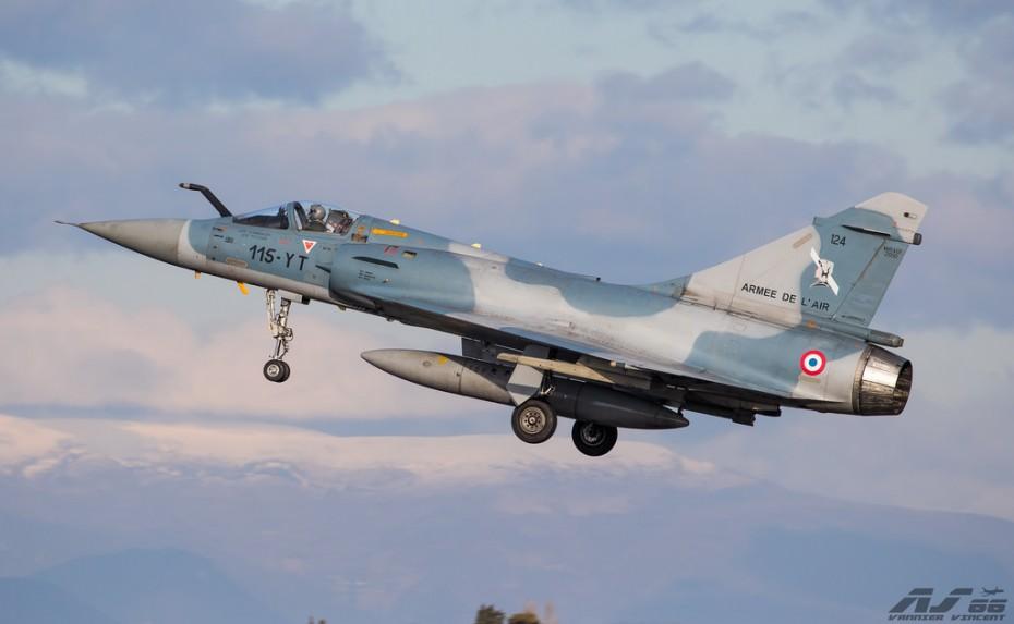 Γαλλία: Νεκροί οι δύο πιλότοι του Μιράζ 2000D