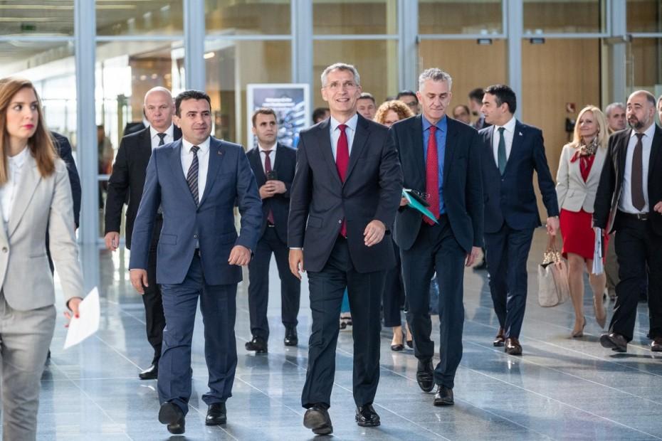 Συγχαρητήρια από το ΝΑΤΟ στον Ζάεφ για τη «Βόρεια Μακεδονία»