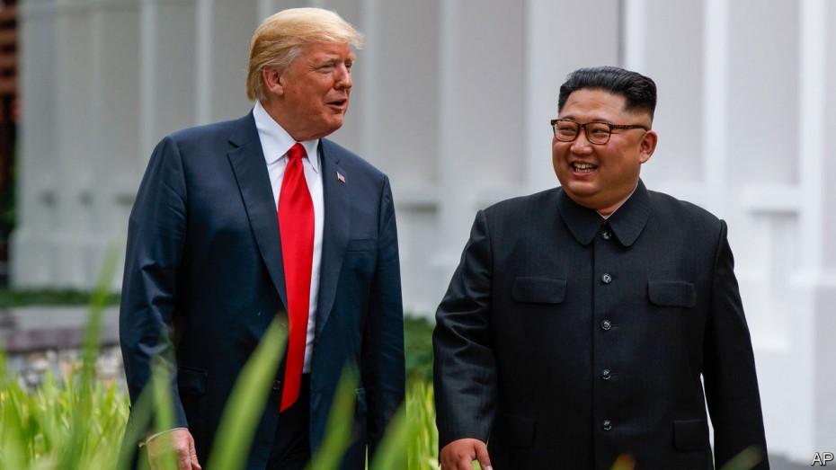Τραμπ: Αδημονώ να συναντήσω ξανά τον Κιμ Γιονγκ Ουν
