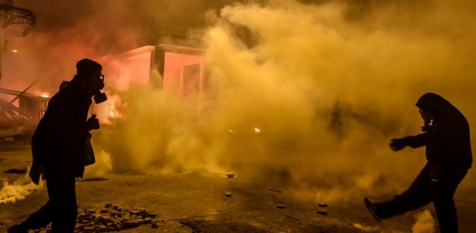 Αντιεξουσιαστές επιτέθηκαν σε αστυνομικούς της ομάδας ΔΙΑΣ