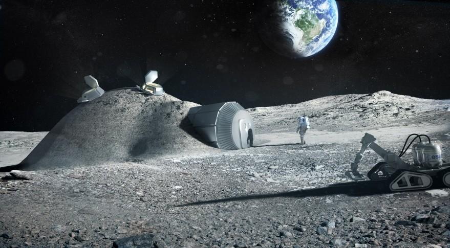 Έλληνας φοιτητής σχεδιάζει την ευρωπαϊκή διαστημική βάση στη Σελήνη
