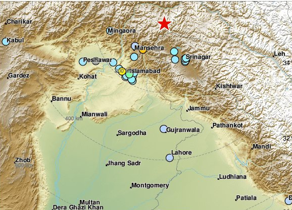 Σεισμός 5,6 Ρίχτερ στην Ινδία