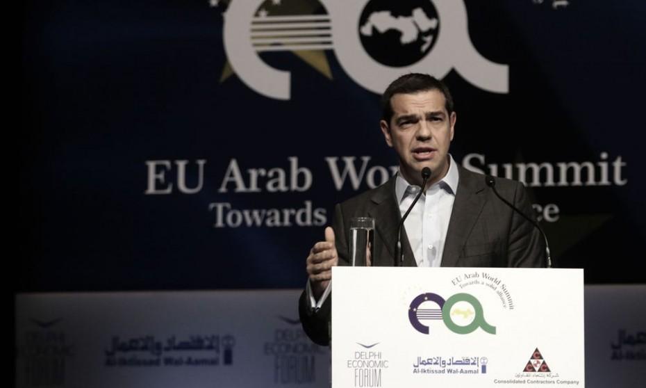 Το πρόγραμμα Τσίπρα στη Σύνοδο ΕΕ-Αραβικού Συνδέσμου