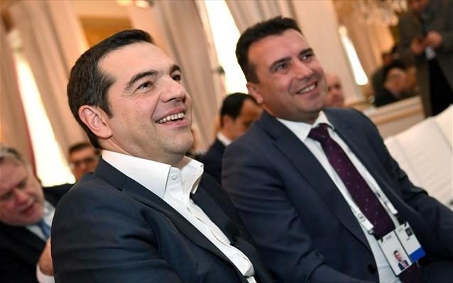 Τσίπρας: Με τον Ζάεφ είμαστε στη σωστή πλευρά της Ιστορίας