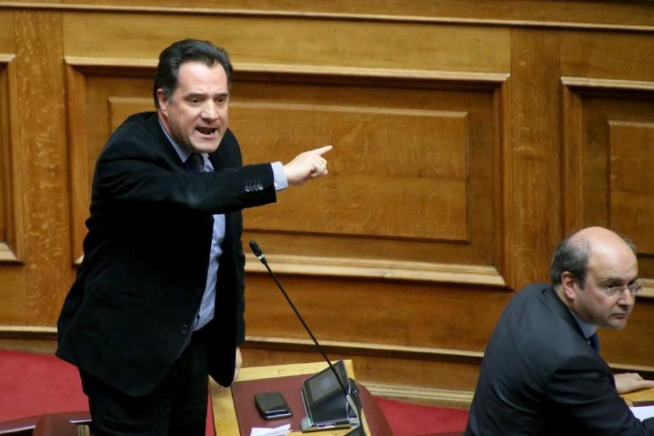 Επίθεση Γεωργιάδη προς ΣΥΡΙΖΑ για τα σεξιστικά σχόλια της Μεγαλοοικονόμου