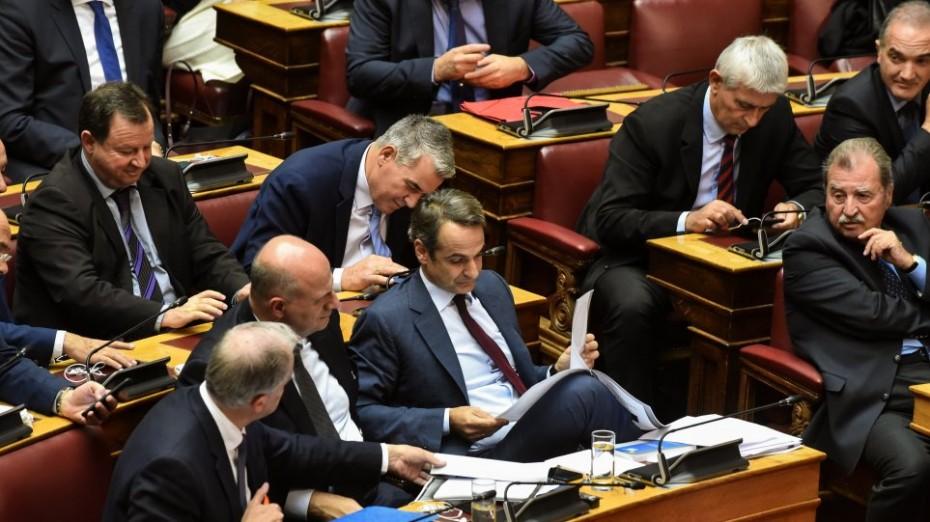 «Λάσπη» από τον Τσίπρα για τη Συνταγματική Αναθεώρηση, λέει η ΝΔ