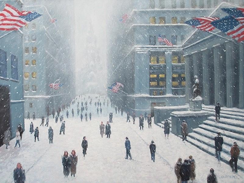 Οριακές απώλειες στην Wall Street - Ακούν για συμφωνία, αλλά δεν βλέπουν συμφωνία
