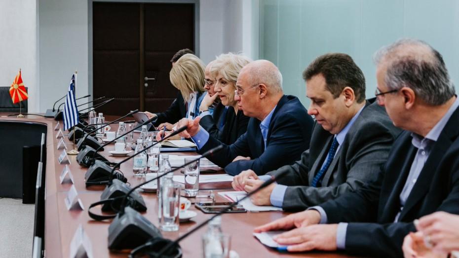 Η Αναγνωστοπούλου πρόεδρος της Διυπουργικής Επιτροπής Ελλάδας – Βόρειας Μακεδονία