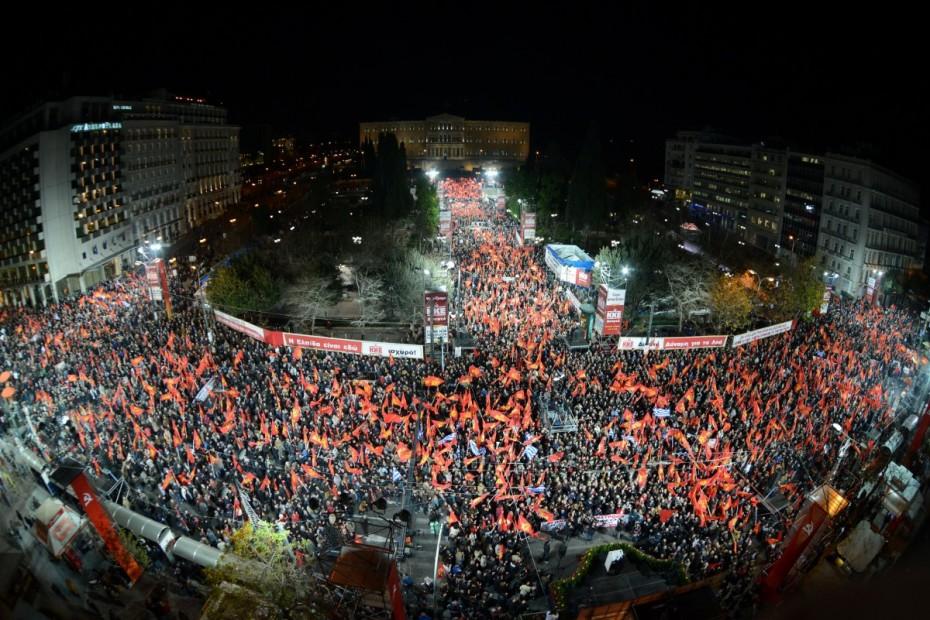 Στις 22 Μαΐου η κεντρική προεκλογική συγκέντρωση του ΚΚΕ στο Σύνταγμα