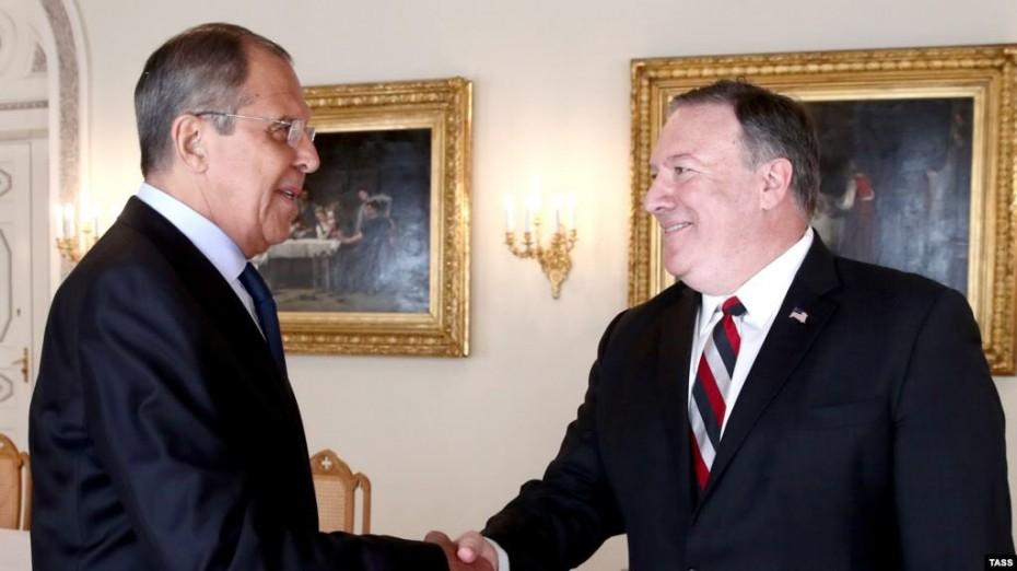 Δέσμευση Πομπέο για βελτίωση των σχέσεων ΗΠΑ - Ρωσίας