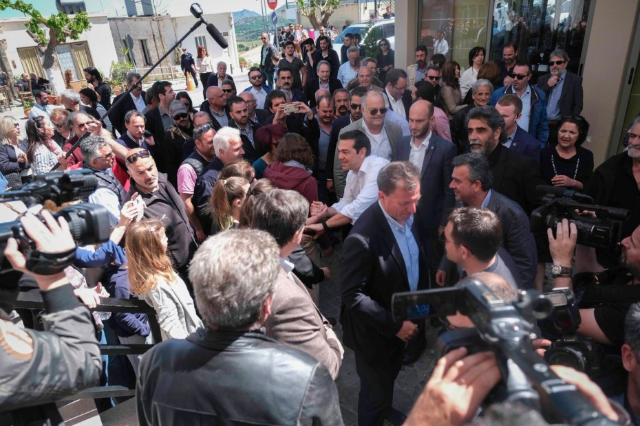 Υπερκομματικό μήνυμα Τσίπρα από την Κρήτη