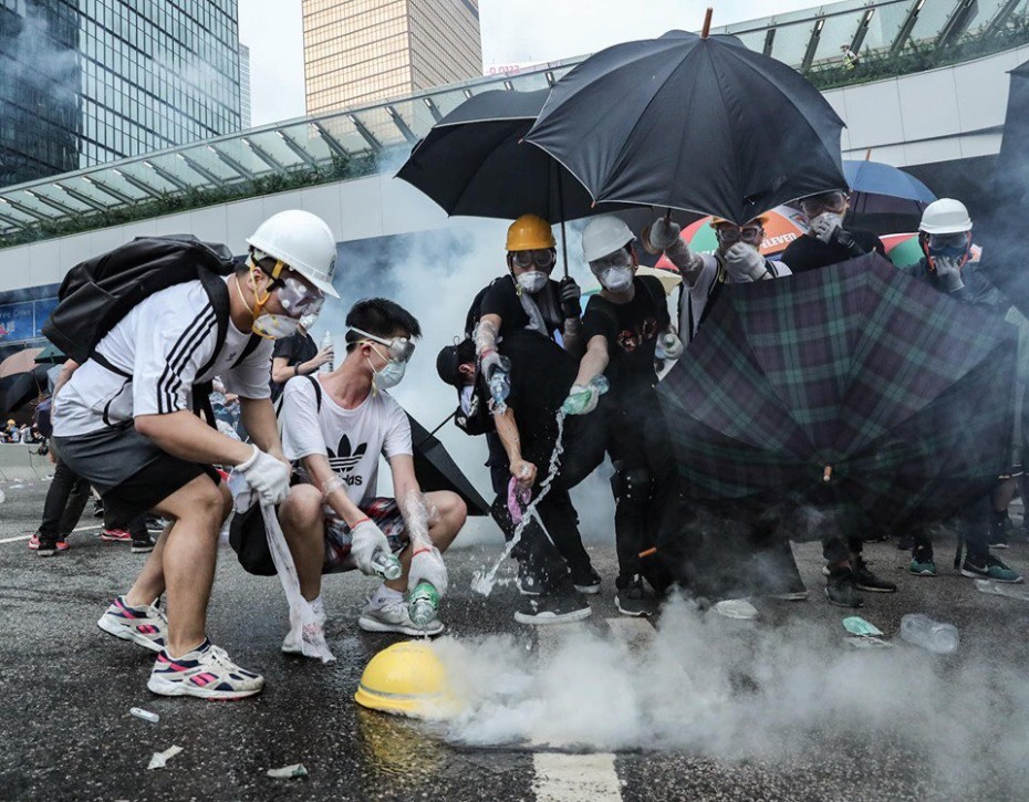 Τουλάχιστον 22 τραυματίες από τα επεισόδια στο Χονγκ Κονγκ