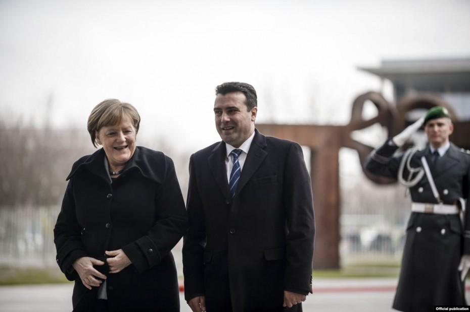 Στο Βερολίνο ο Ζάεφ για συνάντηση με την Μέρκελ