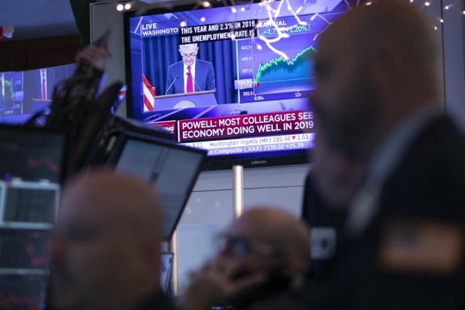 «Παγωμένη» η Wall περιμένοντας τη Fed