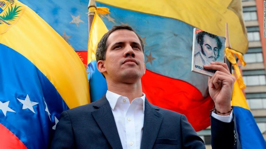 Ο Μητσοτάκης αναγνωρίζει τον Γκουαϊδό ως πρόεδρο της Βενεζουέλας