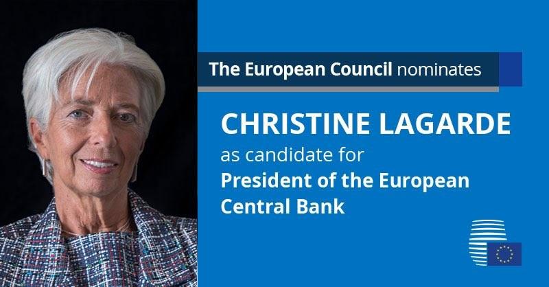 Η Λαγκάρντ εγκαταλείπει το ΔΝΤ για την ΕΚΤ