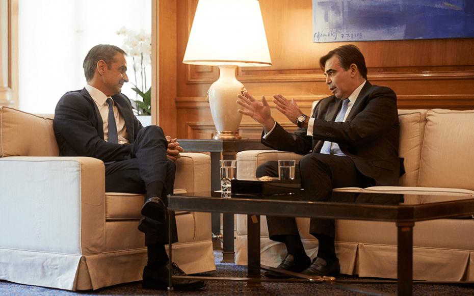 Μεγάλη ευθύνη η θέση του Επιτρόπου στην Κομισιόν, τόνισε ο Σχοινάς