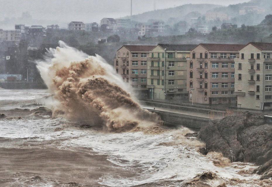 Κίνα: Πάνω από 10 νεκροί από τον τυφώνα Λέκιμα